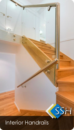 Interior Stainless Steel And Wire Balustrades